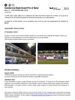 Diapositiva 1 - MotoGP VIP Village