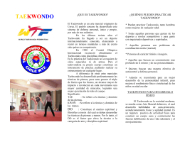 taekwondo ect - English College Talagante
