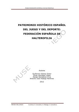 Federación Española de Halterofilia
