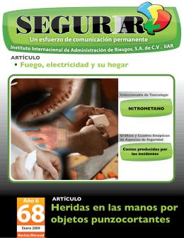 Artículo Heridas en las manos por objetos punzocortantes