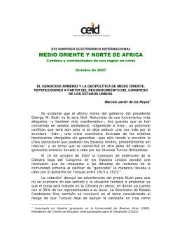 MEDIO ORIENTE Y NORTE DE AFRICA