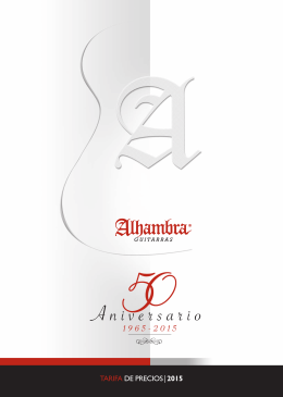 TARIFA ALHAMBRA ESPAÑA 2015.indd