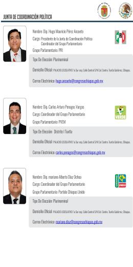 01 Junta de Coordinacion Politica