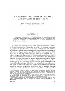 4. La alta nobleza del norte en la Guerra civil catalana de 1462