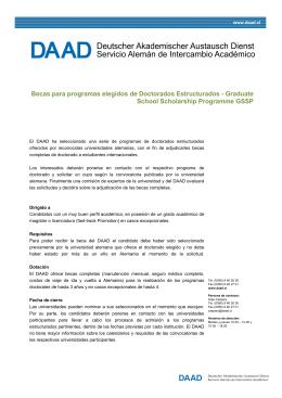Doctorados Estructurados
