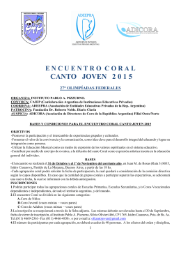 VIVENCIAS ESTUDIANTILES 2000