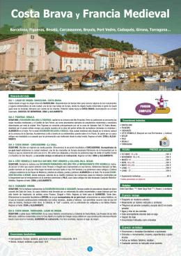 Costa Brava y Francia Medieval