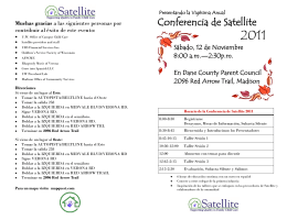Conferencia de Satellite - Satellite Family Child Care
