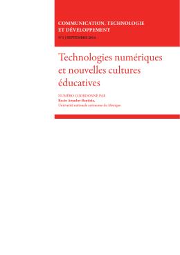 Technologies numériques et nouvelles cultures éducatives