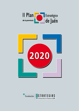 II Plan Estratégico de la provincia de Jaén, 2020 pdf de18,4 Mb