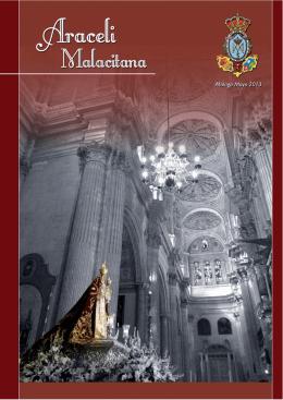 Revista 2013 - Cofradia Virgen de Araceli en Málaga