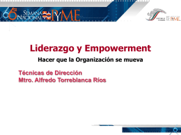 Presentación de PowerPoint - MAESTRÍA EN ADMINISTRACIÓN