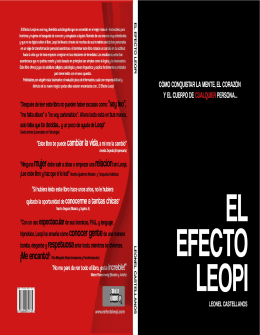 Efecto Leopi - WordPress.com