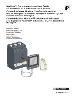 Modbus™ Communication—User Guide