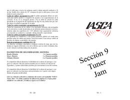 Sección 9 Tuner Jam
