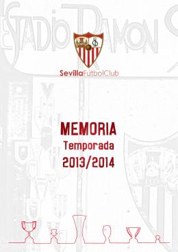 MEMORIA - Sevilla FC