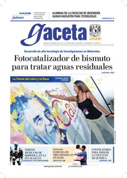 Edición impresa - gaceta Digital UNAM