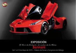 FERRARI Dossier 2015 - Scuderia Ferrari Club Andalucía
