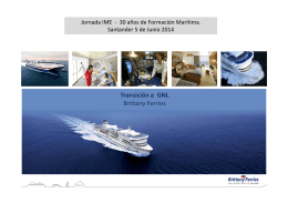 Transición a GNL Brittany Ferries