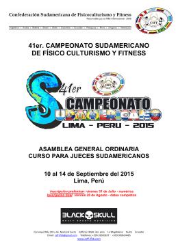 Campeonato Sudamericano 2015