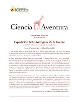 Expedición Félix Rodríguez de la Fuente