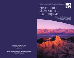 Presentando El Evangelio Cuadrangular