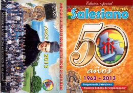50 años - Salesianos de Bolivia