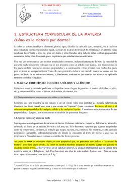 3. ESTRUCTURA CORPUSCULAR DE LA