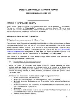 BASES DEL CONCURSO ¡EN-CANTA ESTE VERANO! DE EURO