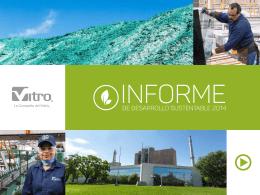 Vitro Informe Sustentabilidad 2014