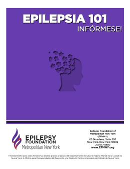 "Descargar folleto PDF ""Epilepsia 101 – Infórmese!"""