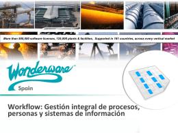 Workflow: Gestión integral de procesos, personas y sistemas de