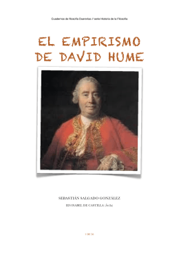 EL EMPIRISMO DE DAVID HUME