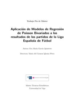 Aplicación de modelos de regresión de Poisson Bivariantes a los