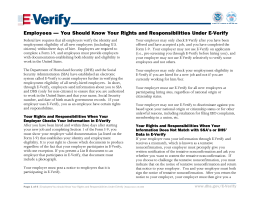 You Should Know Your Rights and Responsibilities Under E