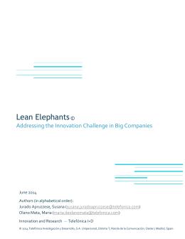 Lean Elephants - Telefonica I+D