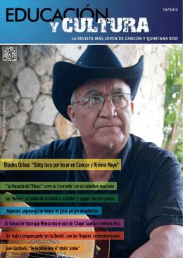 """Elíades Ochoa: """"Estoy loco por tocar en Cancún y Riviera Maya"""""""