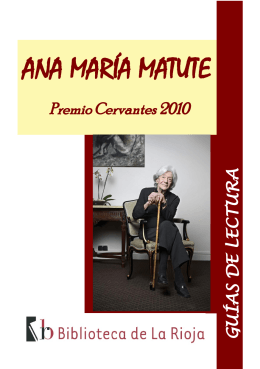 ANA MARÍA MATUTE- - Biblioteca de La Rioja