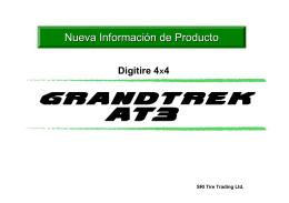 Nueva Información de Producto