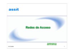 Integración Fijo-Móvil Redes de Acceso