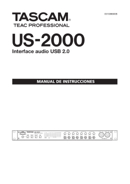 US-2000 Owner`s Manual
