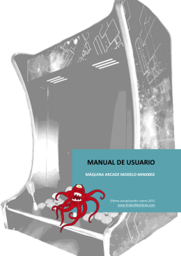 Manual de la máquina modelo MINI0002