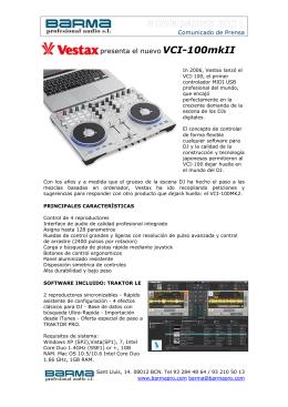 presenta el nuevo VCI-100mkII