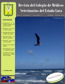 Revista del Colegio de Médicos Veterinarios del Estado Lara