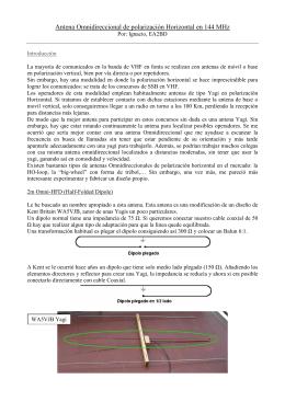 EA2BD Antena 2m Omni