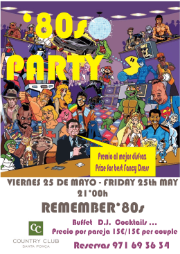 80 party - Country Club