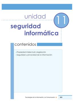 unidad seguridad informática - Dirección General de Cultura y
