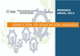 dirección de educación agraria - BibliotecaDeaMag
