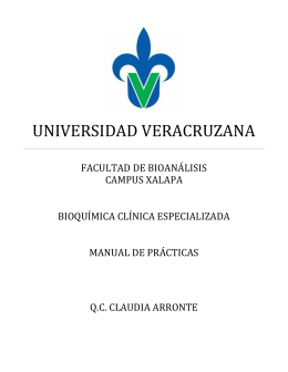 Manual de Prácticas Bioquimica Clinica Especializada
