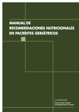 Manual de Nutrición Geriátrica
